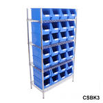 Chrome Shelving Bin Kits Thumbnail 10