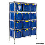 Chrome Bay With 12x 35 Litre Really Useful Boxes Thumbnail 3