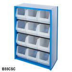 Value Parts Bin Cupboard 1000mm High Thumbnail 10