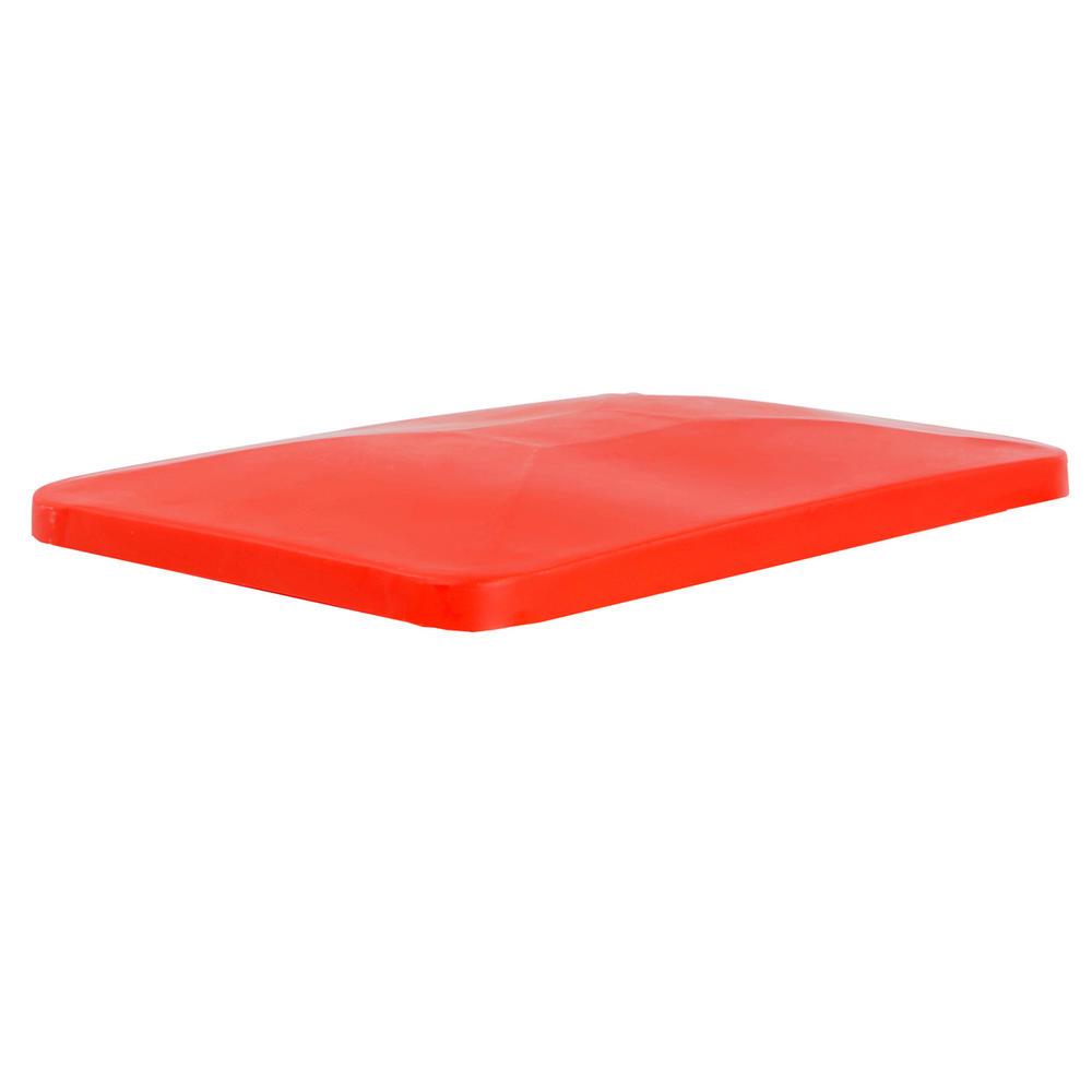 Red Lids For Premium Tapered Trucks