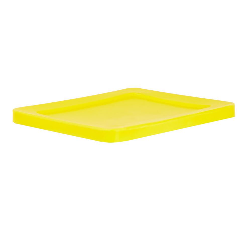 Yellow Lids For Premium Tapered Trucks