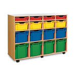 Gratnells 16 Variety Tray Wooden Units