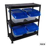 Plastic Storage Kits With Hinged Boxes Thumbnail 2