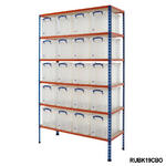 Shelving Bay With 24 Litre Really Useful Boxes Thumbnail 3