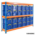 Racking Bay With 24x 35 Litre Really Useful Boxes Thumbnail 3