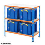 Shelving Bay With 4x 35 Litre Really Useful Boxes Thumbnail 4