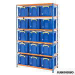 Shelving Bay With 15x 35 Litre Really Useful Boxes Thumbnail 3