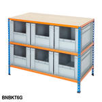 Shelving Kits With Grey Euro Containers Thumbnail 7